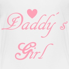 Daddys Girl with Heart Kids' Shirts