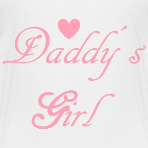 Daddys Girl with Heart Kids' Shirts - Kids' Premium T-Shirt