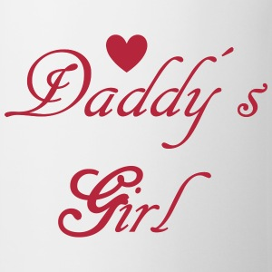 Daddys Girl with Heart Bottles & Mugs - Coffee/Tea Mug
