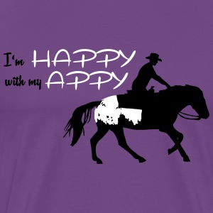 Happy Appy  T-Shirts - Men's Premium T-Shirt