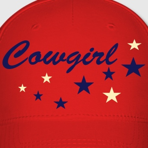 Cowgirls with stars Caps - Baseball Cap