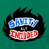 Sanity Not Included - Logo - Men's Fine Jersey T-Shirt
