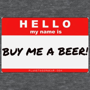 Buy Me A Beer Name Tag Women's T-Shirt  - Women's T-Shirt
