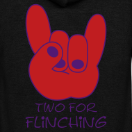 Design ~ TFF Logo Special Edition Flock Print Zipper Hoodie