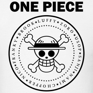 ONE PIECE BLACK T-Shirts - Men's T-Shirt