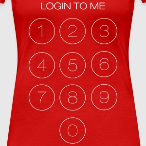 Login to me - Women's Premium T-Shirt
