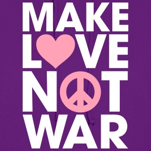 Make Love Not War Hoodies - Women's Hoodie
