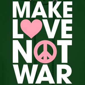 Make Love Not War Hoodies - Men's Hoodie