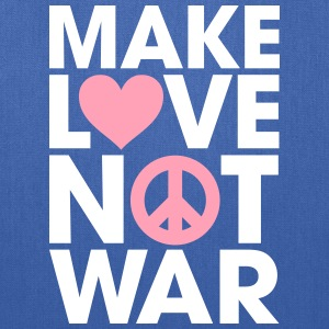 Make Love Not War Bags & backpacks - Tote Bag