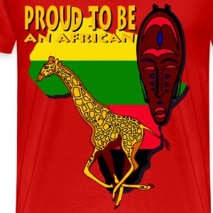 Proud To Be An African T-Shirts - Men's Premium T-Shirt