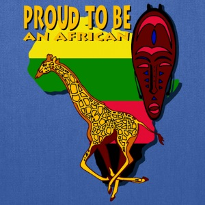 Proud To Be An African Bags & backpacks - Tote Bag