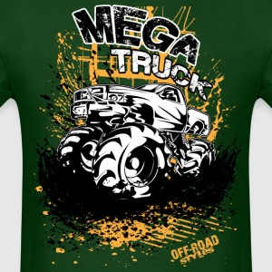 Mega Mud Truck T-Shirts - Men's T-Shirt