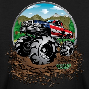 Mud Truck USA Kids' Shirts - Kids' Long Sleeve T-Shirt