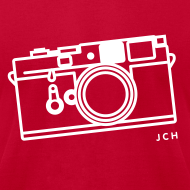 Design ~ Leica Red. Premium 100% cotton