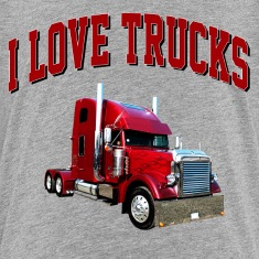 i_love_trucks Kids' Shirts