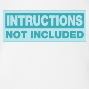 intructions_not_included Baby & Toddler Shirts - Short Sleeve Baby Bodysuit