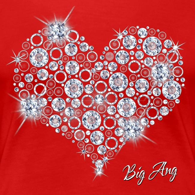 Big Bling Heart