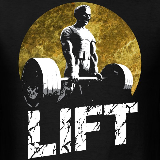LIFT - Screaming Weightlifter