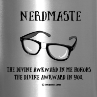 Design ~ Nerdmaste Travel Mug