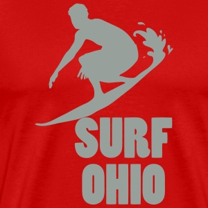 surf ohio T-Shirts - Men's Premium T-Shirt