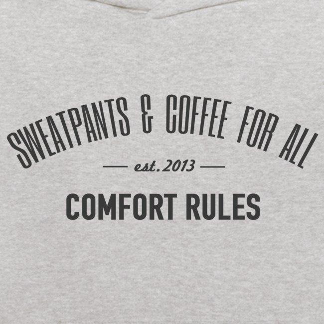 Kids Sweatpants & Coffee Hoodie
