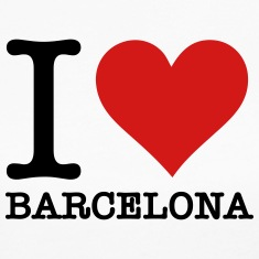 Ilovebarcelona (2c)++2014 Long Sleeve Shirts