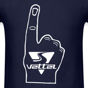 Vettel Point Finger - Men's T-Shirt