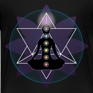 Meditate Yoga Chakras And Lotus Kids' Shirts - Kids' Premium T-Shirt