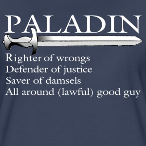 Paladin in white - Women's Premium T-Shirt