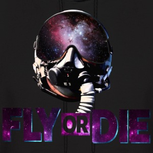 Fly or Die  Cool Design - Men's Hoodie