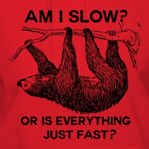 Sloth am I slow?  - Women's Hoodie