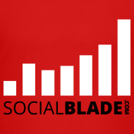 Design ~ Social Blade Red Kids Premium T-Shirt
