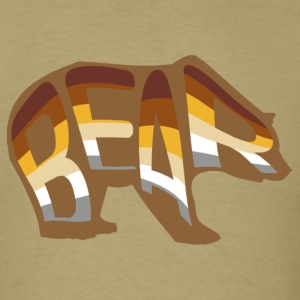 Men's Bear Pride T Shirt - Men's T-Shirt