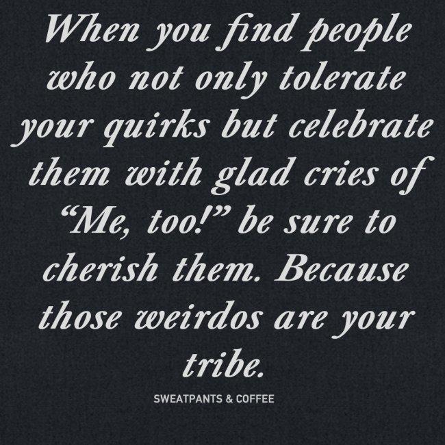 Weirdo Tribe tote