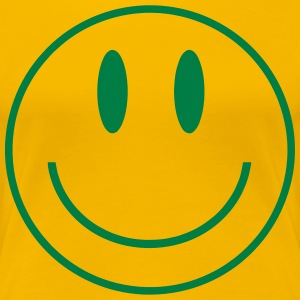 Smiley Face - Women's Premium T-Shirt