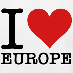 Iloveeurope (2c)++2014 T-Shirts - Men's T-Shirt by American Apparel