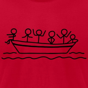 Party on board - Boat Party T-Shirts - Men's T-Shirt by American Apparel