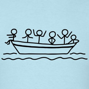 Party on board - Boat Party T-Shirts - Men's T-Shirt