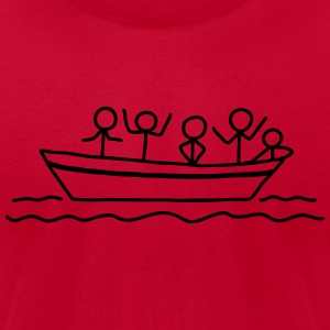 Boating - Boat Tour T-Shirts - Men's T-Shirt by American Apparel