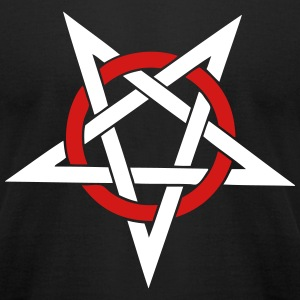 Pentacle - Men's T-Shirt by American Apparel