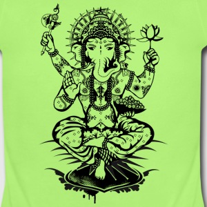 Ganesh, a god with an elephant head  Baby & Toddler Shirts - Short Sleeve Baby Bodysuit