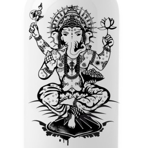 Ganesh, a god with an elephant head  Bottles & Mugs - Water Bottle