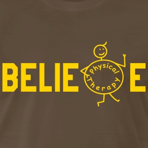BELIEVE Physiotherapy T-Shirts - Men's Premium T-Shirt