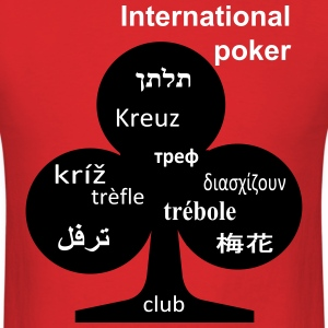 International poker club T-Shirts - Men's T-Shirt