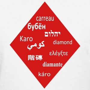 International poker diamond Women's T-Shirts - Women's T-Shirt