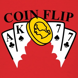 coin flip T-Shirts - Men's T-Shirt