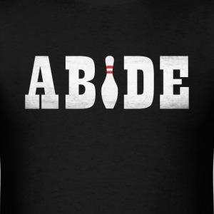The Bowling Dude Abides T-Shirts - Men's T-Shirt