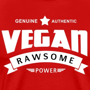 Vegan Rawsome Power - Men's Premium T-Shirt