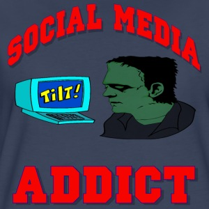 Social Media Addict T-Shirt For Women - Women's Premium T-Shirt