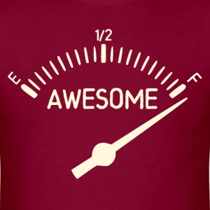 So Full of Awesome Gauge T-Shirts - Men's T-Shirt